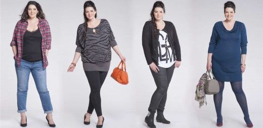 Johanna Dray, mannequin grande taille #psfashion #ronde #Kiabi