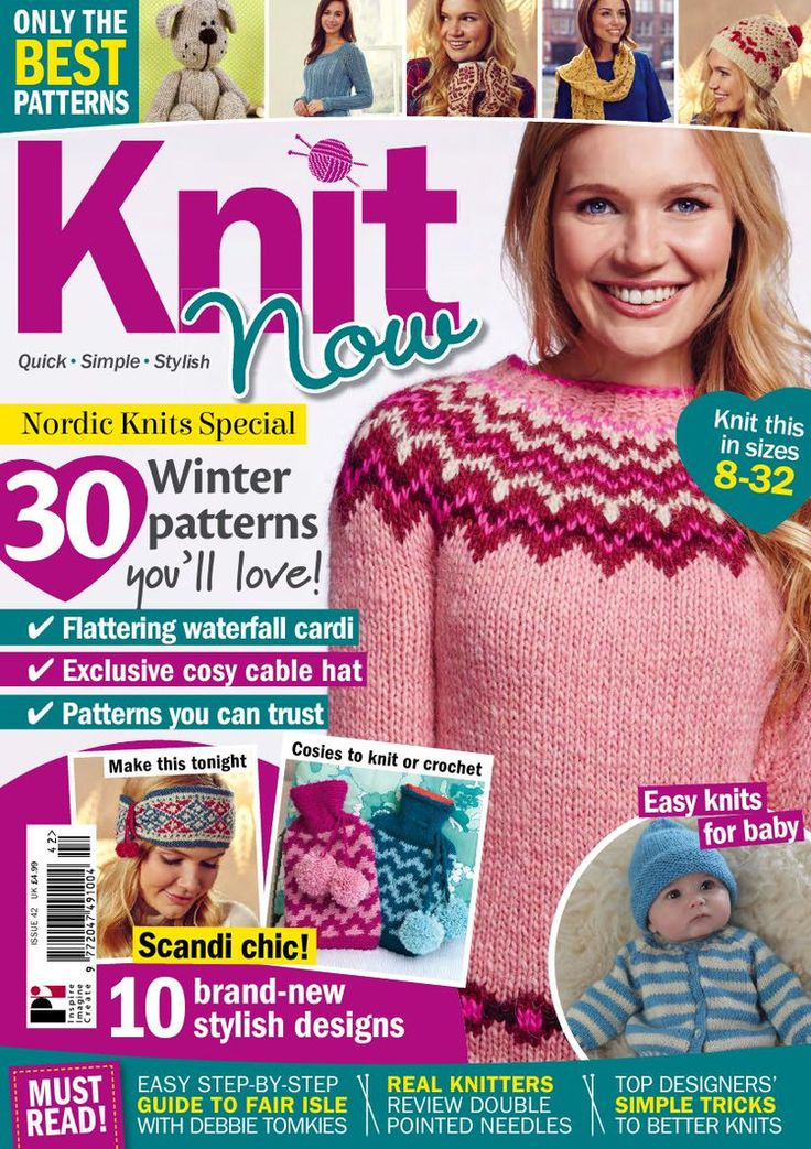 40 best knit now images on pinterest crochet magazine knitting knit now issue 42 2014 fandeluxe Gallery