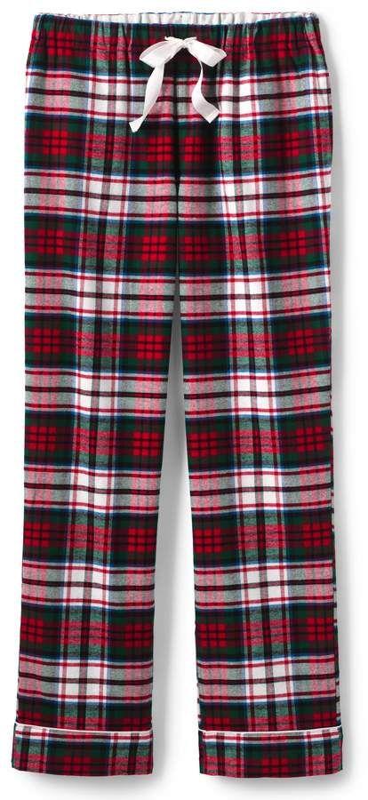 1432723e86 Lands  End Lands end Women s Plus Size Print Flannel Pajama Pants   Size Women Lands