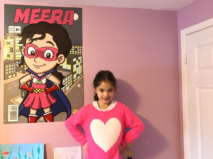 Boost Your Child's Self Esteem By Making Them Into A Super Hero #kids #room #bedroom #diy #cartoon #poster #unique #gift #ideas #girl #design #cool #small #wall #custom #selfesteem I had this cartoon poster created by @vectortoons for $97 and printed it at Costco for $20 #cartoon #clipart #vector #vectortoons #stockimage #stockart #art