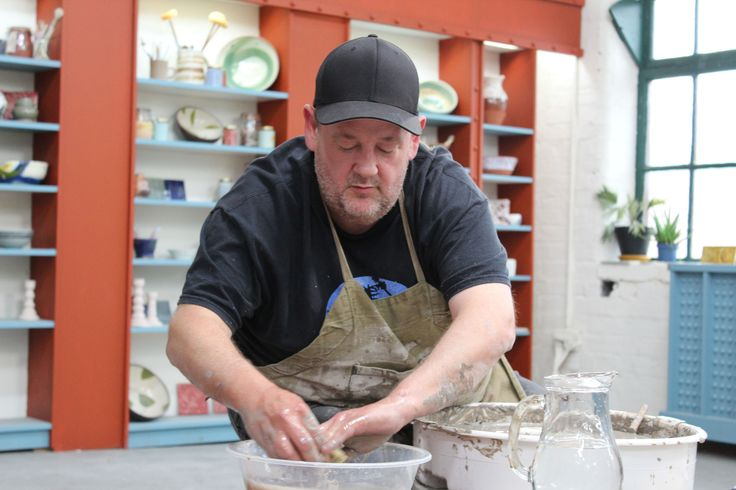Why is Johnny Vegas a judge on The Great Pottery Throw Down?