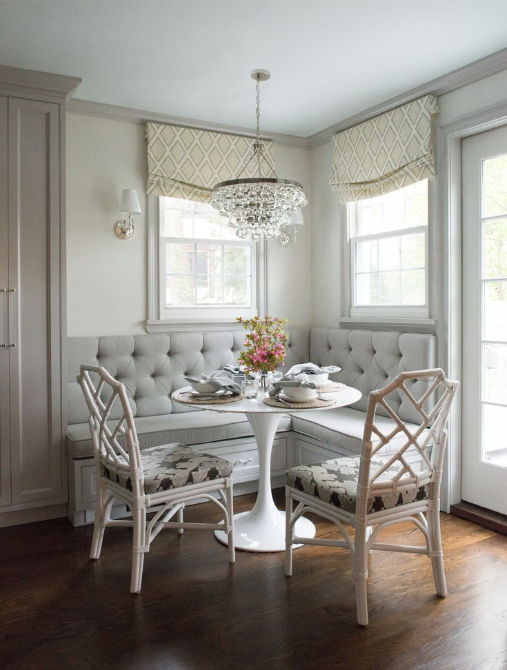17 best ideas about chippendale chairs on pinterest for Dining room banquette