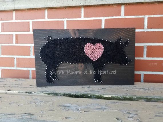 Hey, I found this really awesome Etsy listing at https://www.etsy.com/listing/501312284/string-art-sign-pig-show-livestock-swine