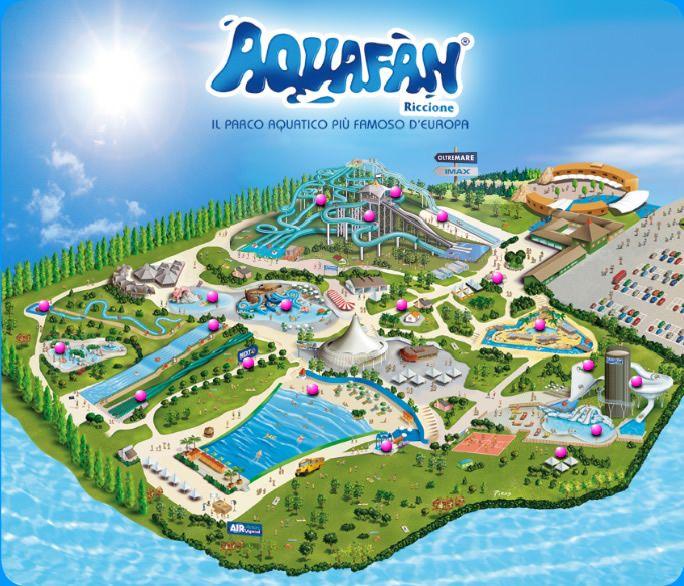 Aquafan water park theme park #rimini #riccione #italy