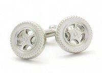 Wheel Cufflinks - $25