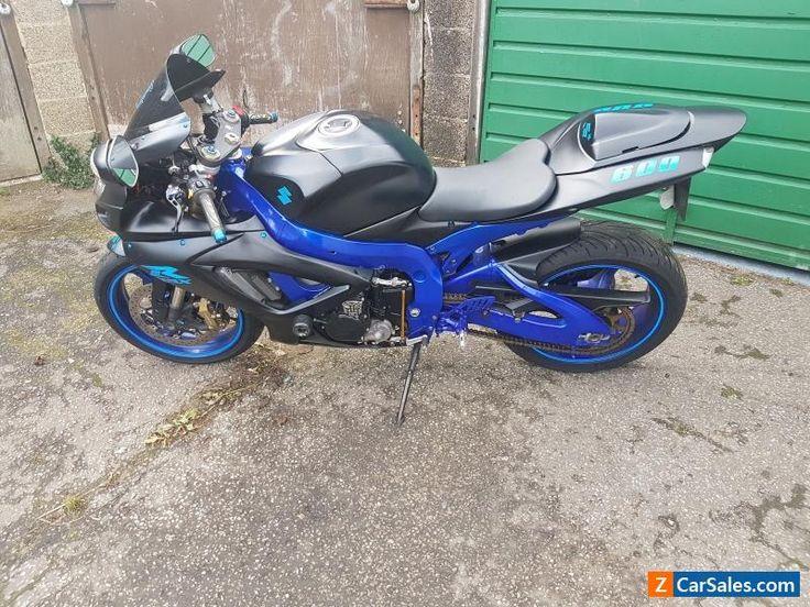 2006 SUZUKI GSXR 600 K6 BLUE #suzuki #gsxr600k6 #forsale #unitedkingdom