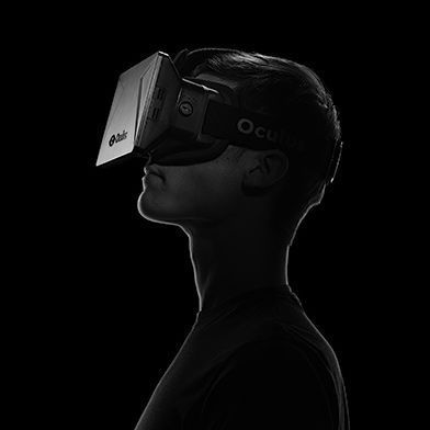 Oculus Rift's Virtual Reality Headset in the future, could possibly be used in many industrial vision applications. #virtualreality