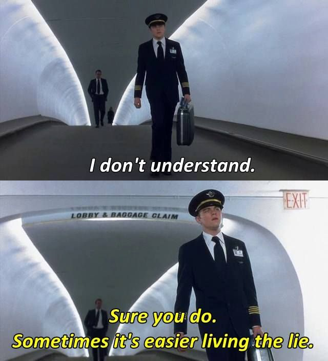 catch me if you can movie analysis Catch me if you can is enjoyable for its excellent performances, fun cat-and-mouse chase, quirky humor and superb messages about crime and divorce, not its historical accuracy unfortunately, the film isn't completely likeable.