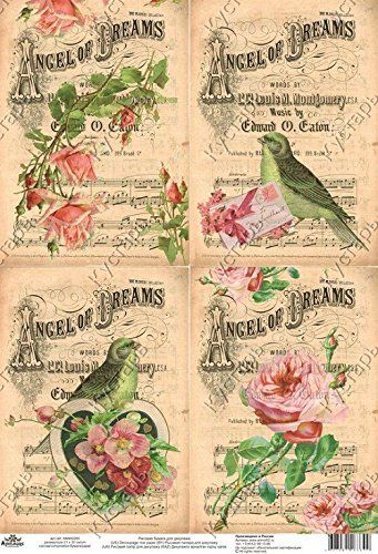 Carta di riso per decoupage. Uccelli. Vintage. Fabbricato... https://www.amazon.it/dp/B01MQOA2RR/ref=cm_sw_r_pi_dp_x_NKZSyb19M4ZMY
