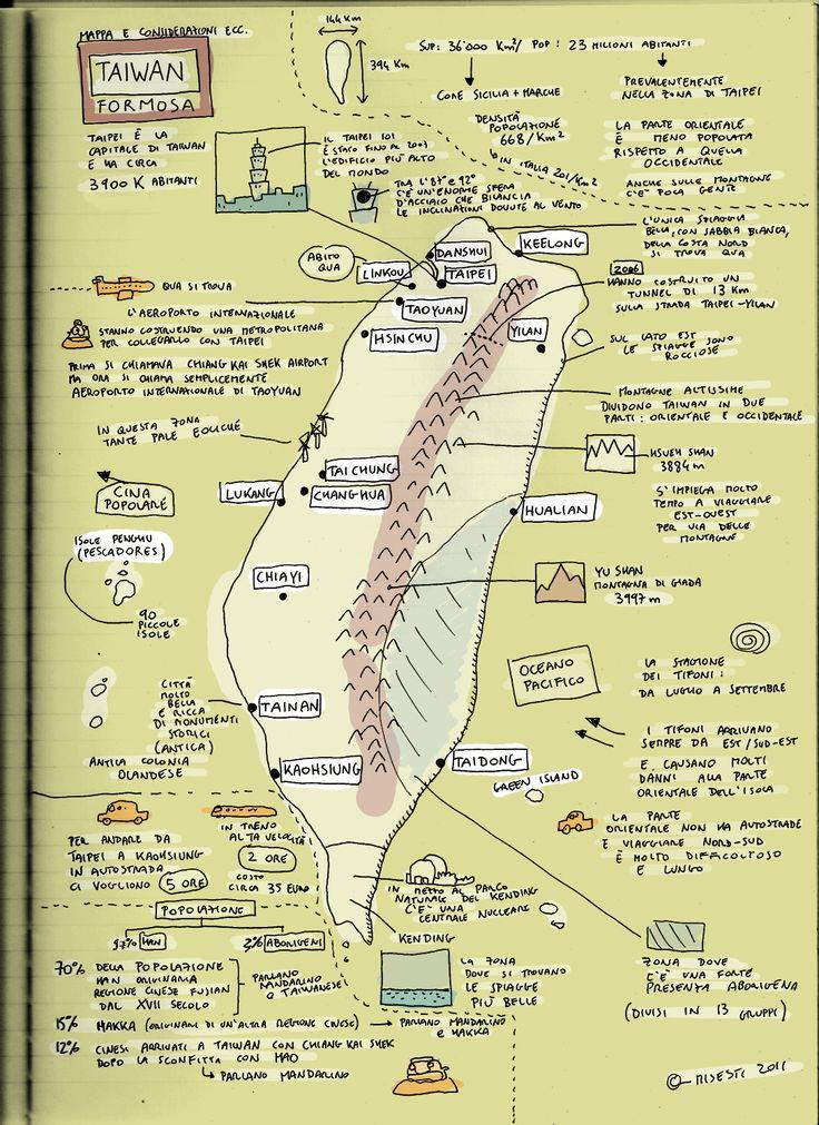 taiwan - map