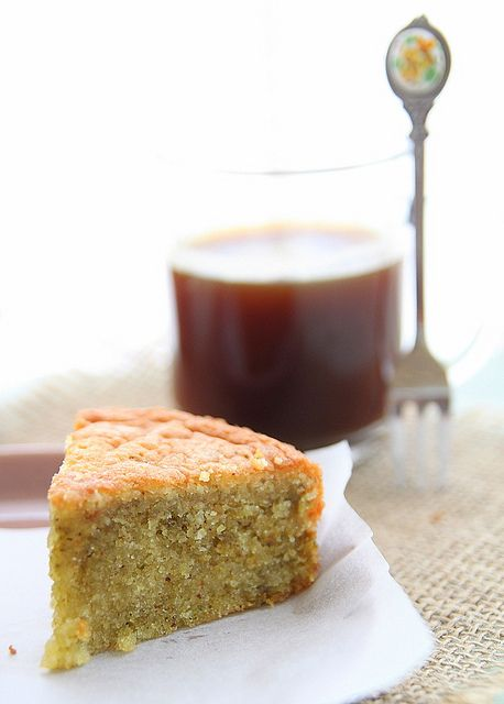 """Almond and Pistachio Cake ... a great recipe from this blog, """"Look Who's Cooking Too!"""""""