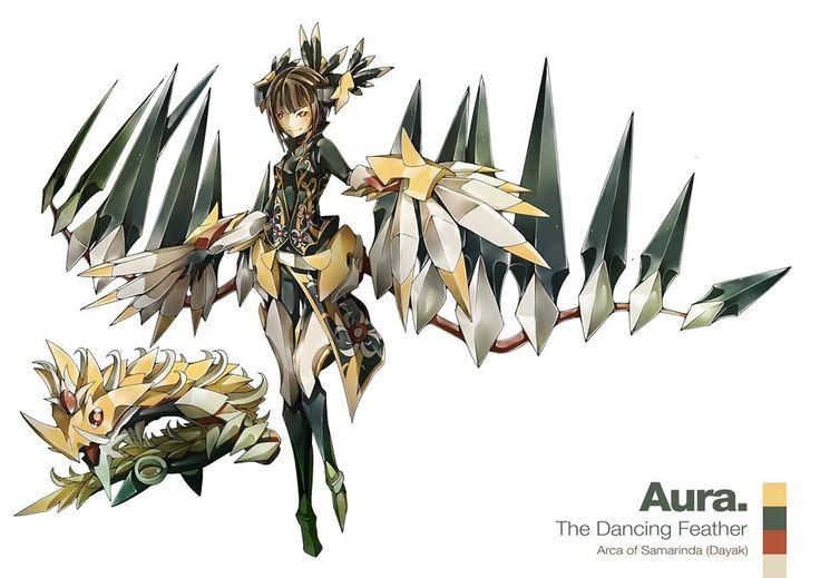 Aura / The Dancing Feather / Arca of Samarinda (Indonesia)