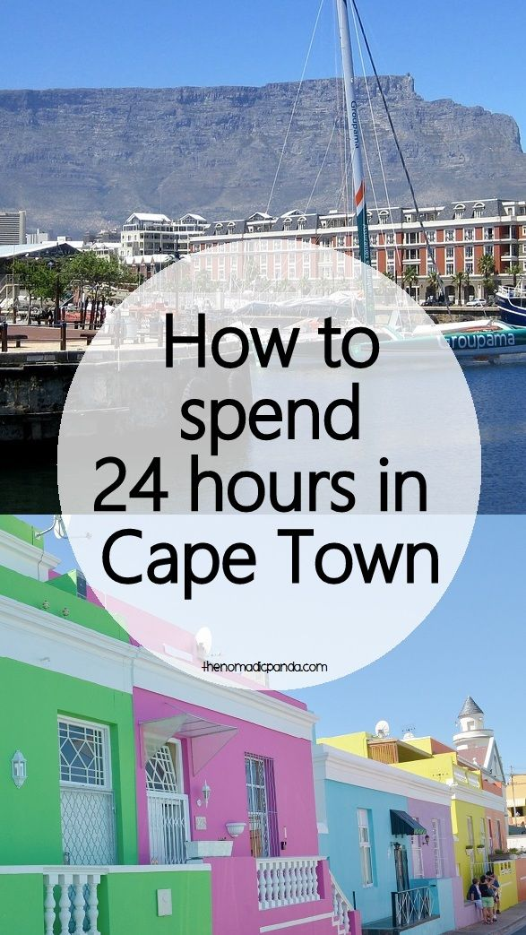 Also called the Mother City, Cape Town sparkles in splendor.  Are you in South Africa but only have a day to explore Cape Town? Here's my guide on spending 24 hours in Cape Town