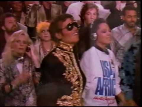 We Are The World - Michael Jackson, Tina Turner, Stevie Wonder, Diana Ross, Lionel Richie and Ray Charles.mpg - YouTube