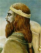 Brian Boru, Irish: Brian Bóroimhe  (about 941–23 to 1014). Believed to be a redhead, he was the last great High King of Ireland and perhaps one of the country's greatest military leaders, credited with unifying the regional leaders of Ireland and free the land from the 'Danish' (Vikings). His 2nd, and famous, marriage was to Gormflaith, rumored to be a vivid redhead.