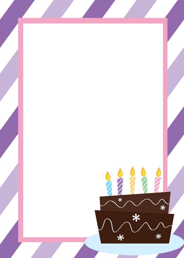 25+ unique Printable birthday invitations ideas on Pinterest - free birthday invite template