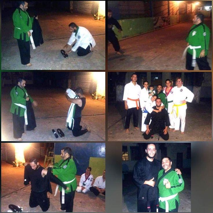 Un nuevo Orgullo para la escuela @EBSKENPO y para mi Bienvenido Mr @AlanVirla nuevo Cinto Negro en ES RYU (el 1ro) FELICIDADES mijo Dios te Bendiga. @ebskenponorte @ebstrainner @dojomikela #kenpo #karate #AutoDefensaParaTodos