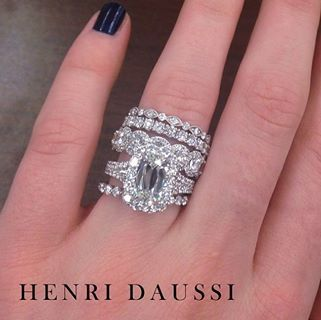 17 Best Images About Multiple Engagement/wedding Rings On Pinterest | Wedding Bands Engagement ...