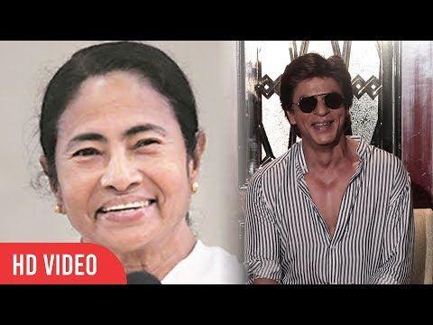 Shahrukh Khan Reaction On Mamata Banerjee In Mumbai | SRK Funny Reaction On Mamata Banerjee