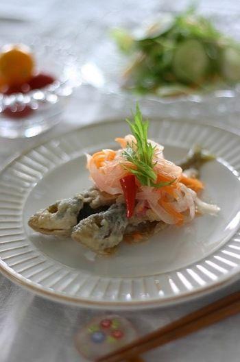 すっぱ美味しい「南蛮漬け」レシピはいかが?これから暑くなる季節に ... さっぱり味で、食欲もアップ!今晩のおかずにしてみては?