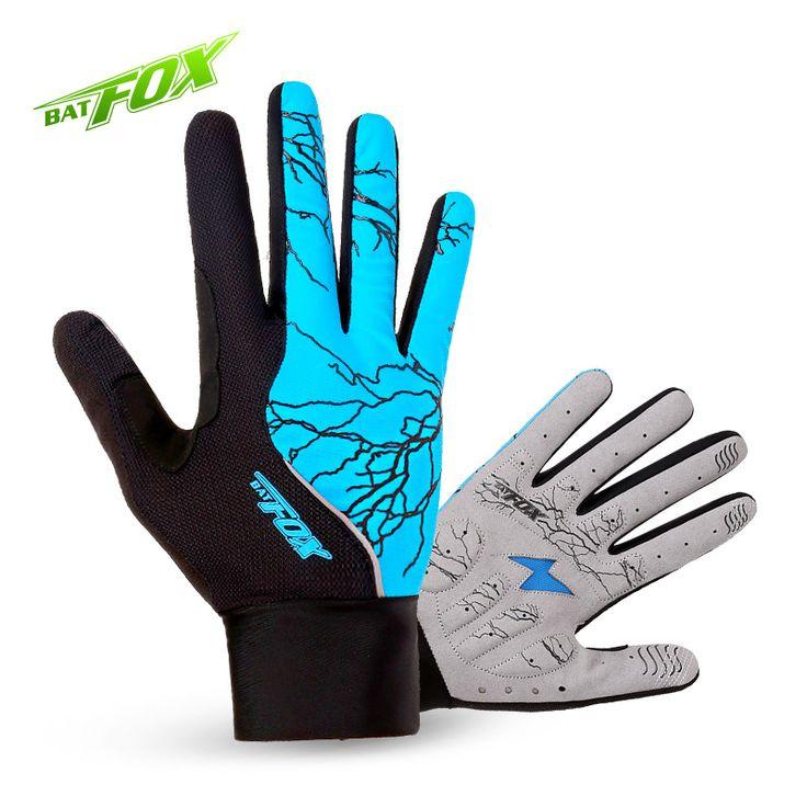 BATFOX  winter Cycling gloves full finger mtb bicycle gloves men women female bike gloves long with fingers