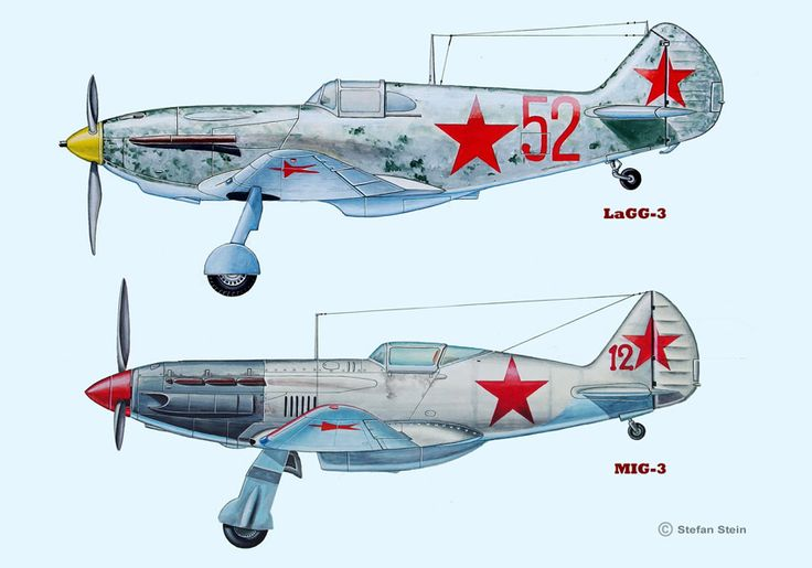 LaGG-3, Mig-3 (Tempera)
