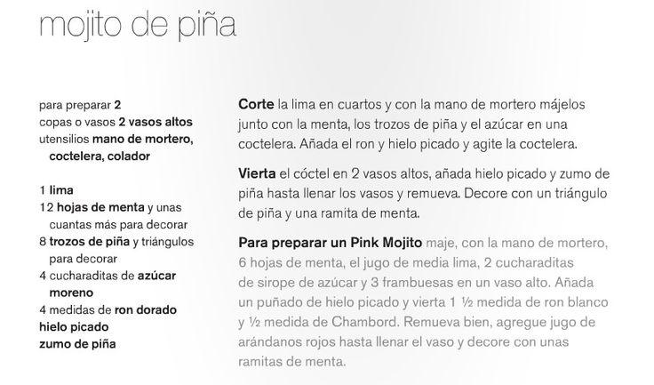 Mojito de Piña