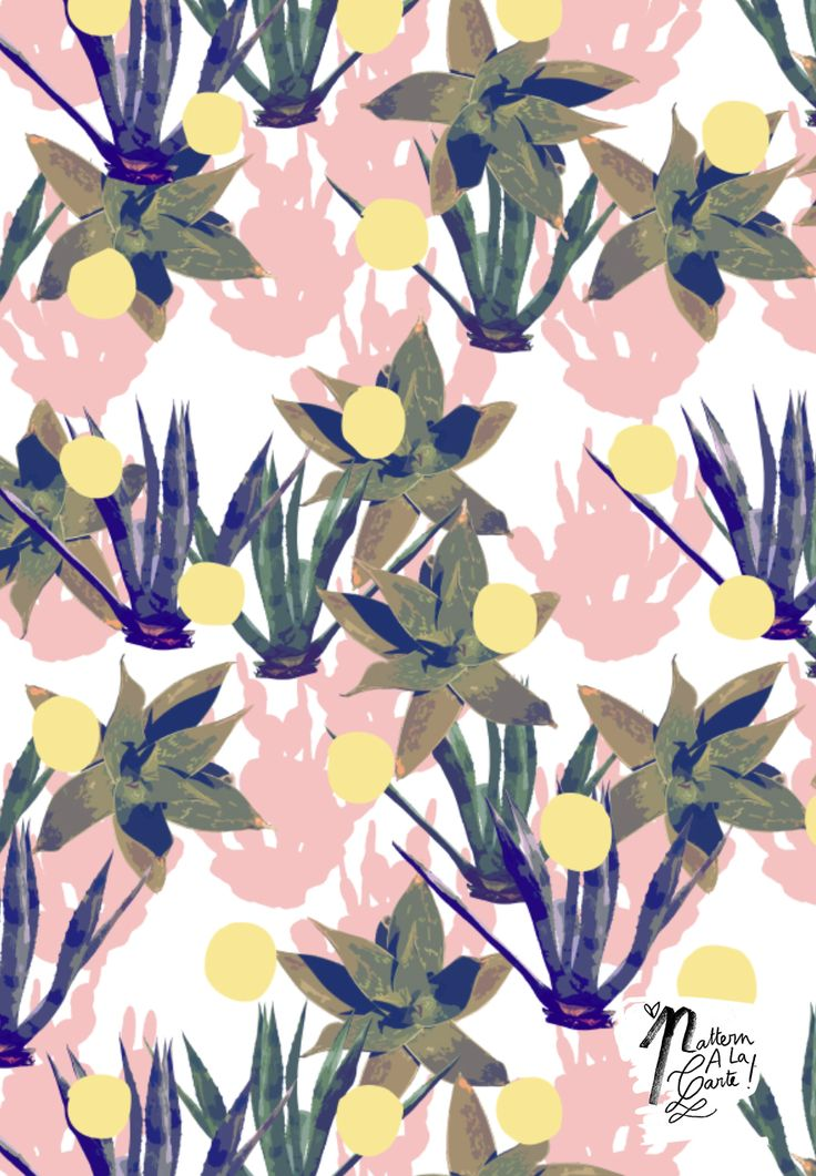 Cactus pattern #patternalacarte on The Creative Contente DIY blog