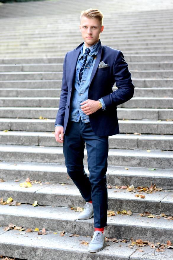#lookbook #StyleToGo #autumnwinter20142015 #pocketsquare #poszetka #koloroweskarpety #sammyicon #streetfashion #jakzlozycposzetke #modamęska #dodatkimęskie