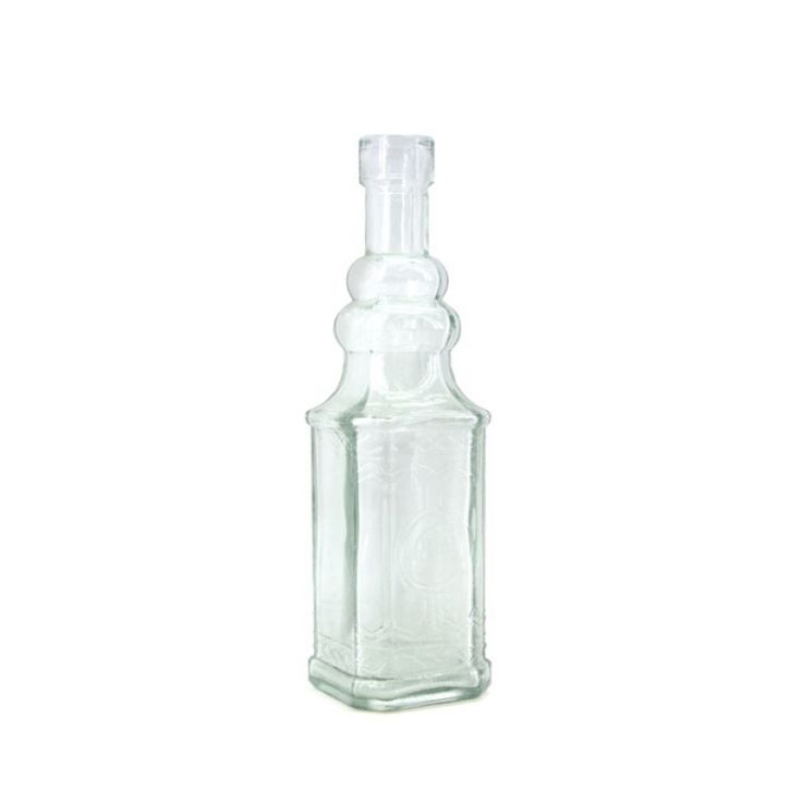 Glass Moscow Bottle 2.2TDx4.9BDx16.7H cm - Clear (02-M-0091) | Oceans Floral-We stock competitively priced quality glassware in a large range of styles. Whether you need glass vases, fish bowls, bottles and jars, hanging vases or an elegant showcase piece, we have the latest styles and a fantastic variety of glass vessels to cover all occasions. Weddings, DIYwedding, Centrepiece, Event planning.
