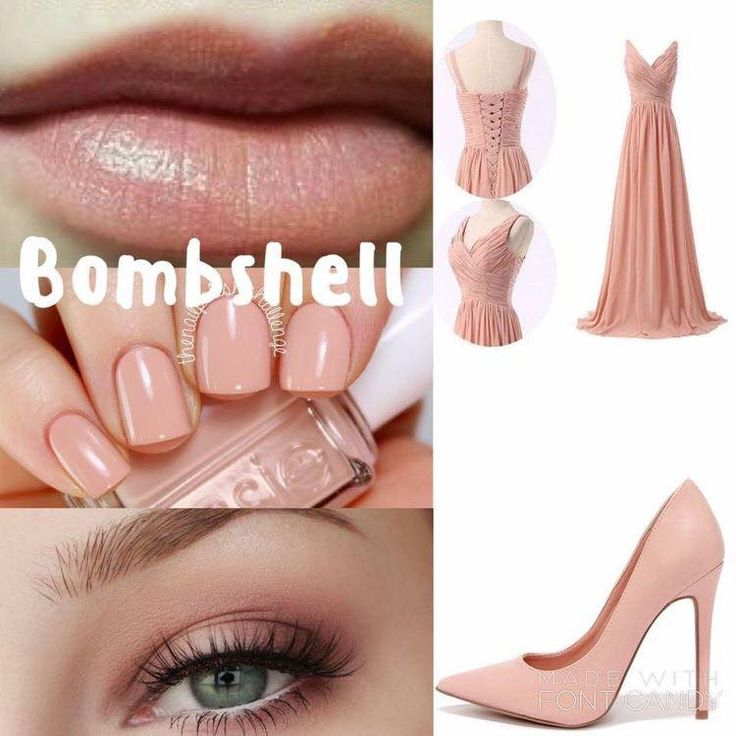 Such a popular lip color! this looks good on everyone! It's a slight pink with a nice shimmer #pink #beauty #shimmer #lipsense #neutral #lipsensebombshell #bombshell #makeup #lipstick