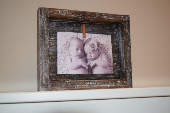 Rustic wooden Picture Frame by littlebarnworld. Explore more products on http://littlebarnworld.etsy.com