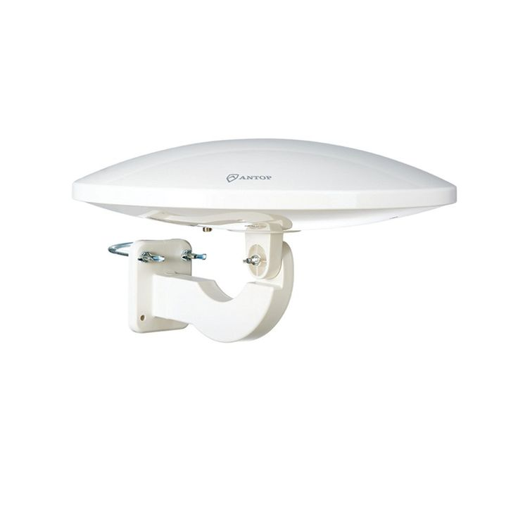 Antop Antenna Inc AT-414B UFO Smartpass Amplified Attic/RV/Outdoor HDTV Antenna