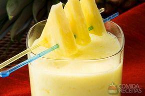 Receita de Batida de abacaxi em receitas de bebidas e sucos, veja essa e outras receitas aqui!