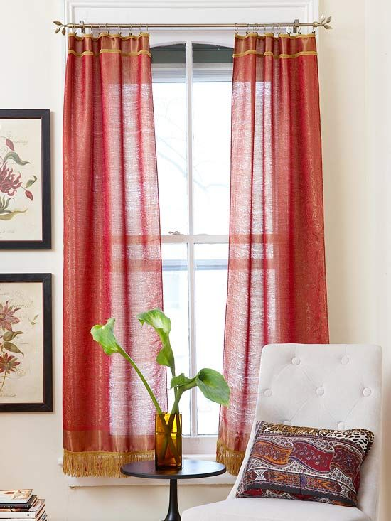 189 best cortinas images on Pinterest | Shades, Diy curtains and ...