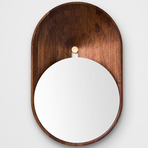 """Découvert dans les allées du salon Maison&Objet, le """"Miroir Mono"""" est une des dernières créations de l'architecte et designer Grégoire de La..."""