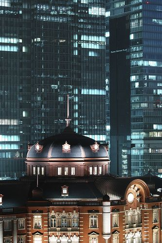 Tokyo Station, Japan - Most complicated train station in the world.
