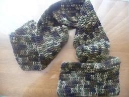 military scarf $8.00