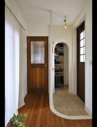 玄関のタイル