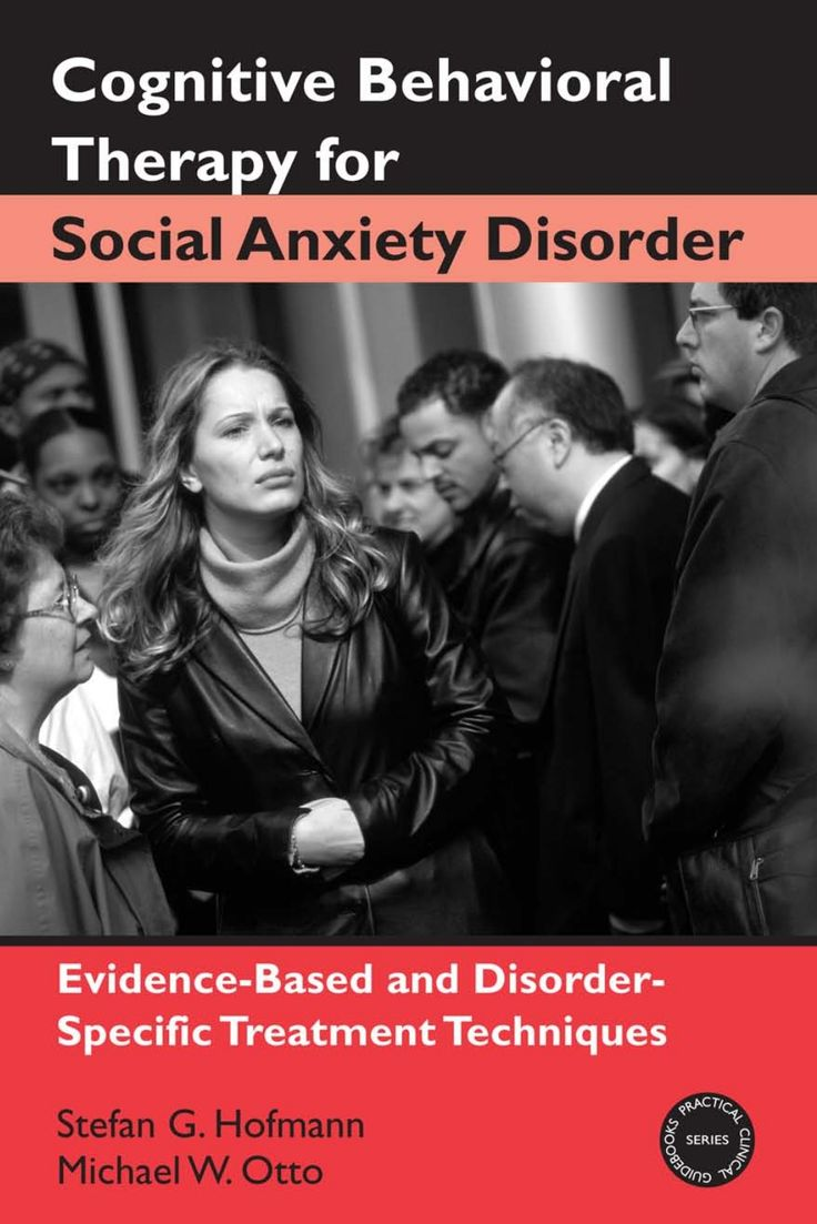 cognitive-behavioral-therapy-for-social-anxiety-disorder-apr2008 by Nancia-k via Slideshare