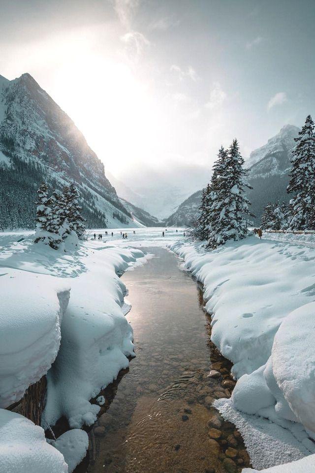 Lake Louise, Alberta✔️ | NATURE | A+WINTER | Winter beauty, Winter