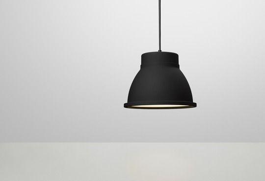 Nice in black too: Studio - lighting - pendant lamp - Muuto - Thomas Bernstrand - muuto.com