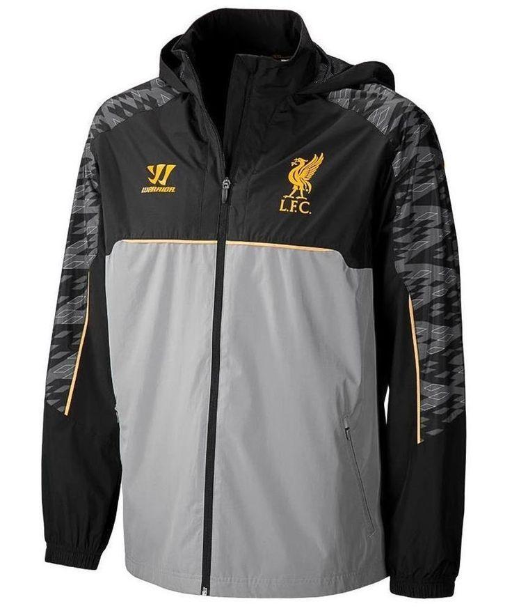 Liverpool FC Official Football Warrior   Mens Hoodie Rain Jacket Post Free