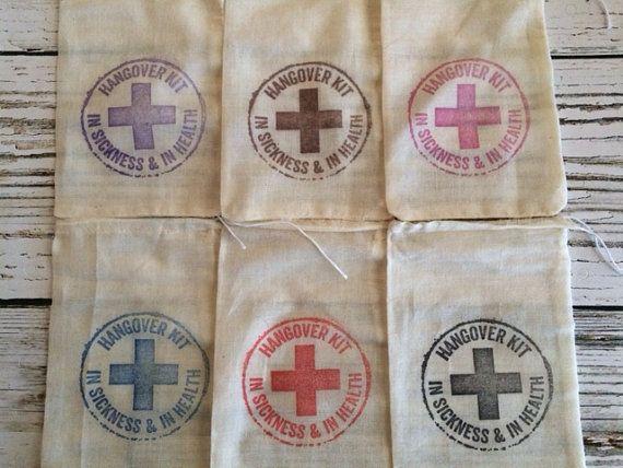 Gueule de bois Kit sacs bricolage gueule de par GreenAcresCottage