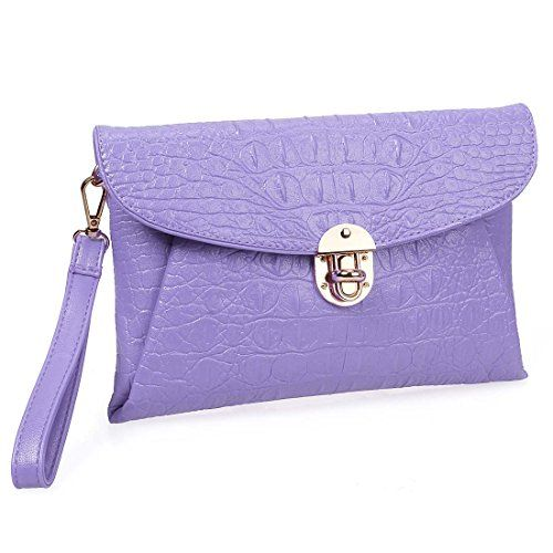 Statement Clutch - Lavender Blooms I by VIDA VIDA xNZwsOupwW