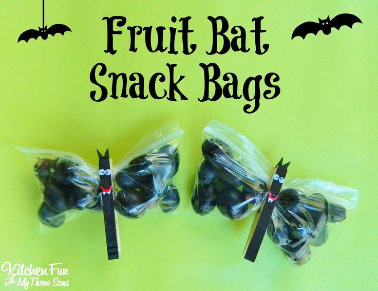 halloween fruit bat snack bags - Halloween Stores Colorado Springs