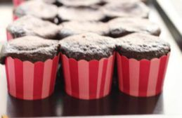 Two ingredient Chocolate Cupcakes