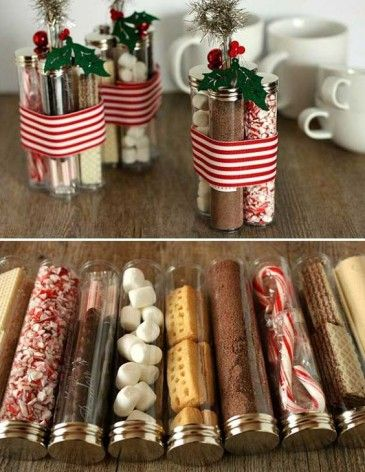 natal craft - chocolate quente