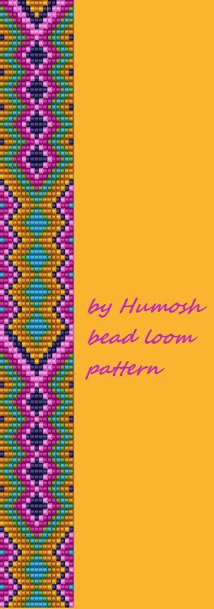 ethnic bead loom pattern5 by Humosh on Etsy