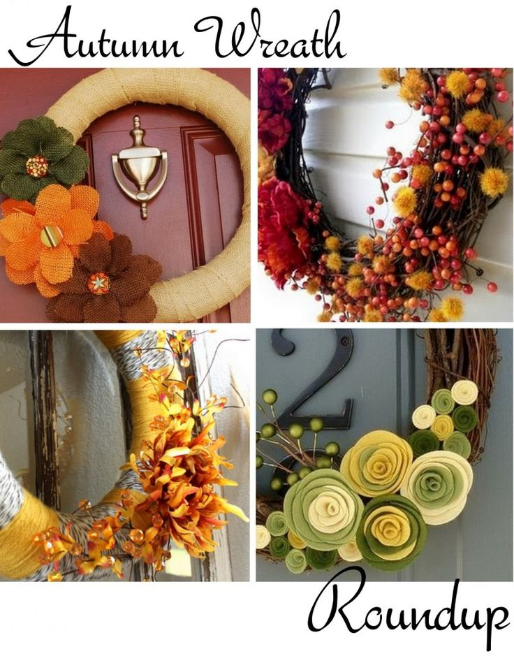 wreaths: Wreaths Idea, 15 Inspiration, Burlap Flower, 15 Autumn, Front Doors, Fall Wreaths, Autumn Wreaths, Art Fall, Inspiration Autumn